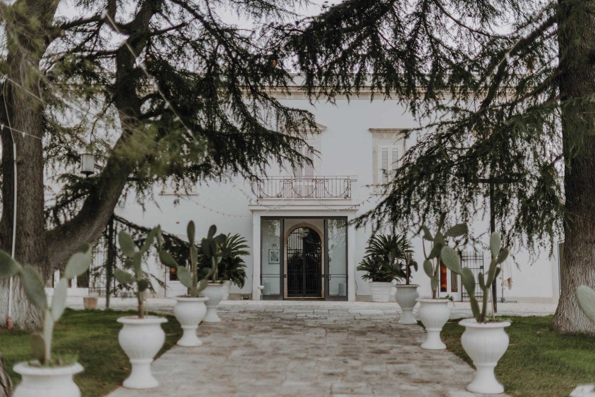 villa ciccorosella wedding location