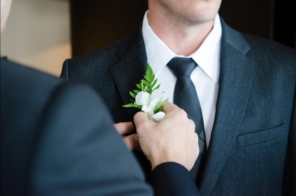 outfit dello sposo